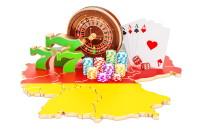 Casino-Spiele auf Deutschlandkarte